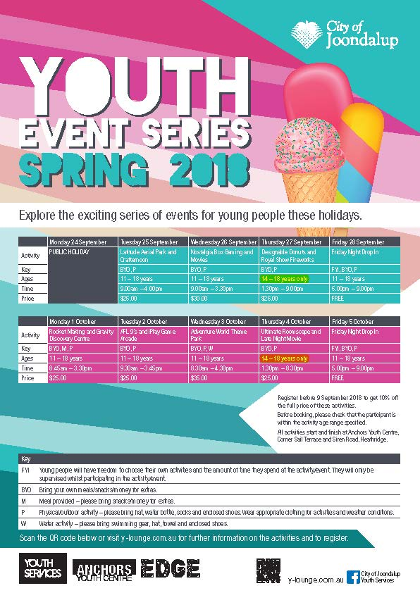 10029 Youth SPRING Events A4 Highlighted