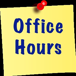 School Holiday Administration Hours