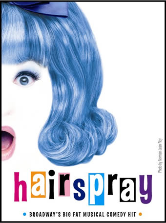 Hairspray Blue Hair