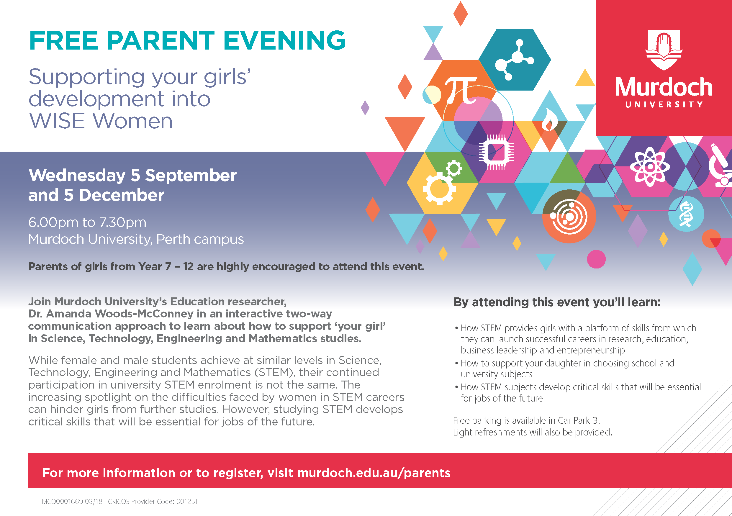 Parent Information Evening Page 1